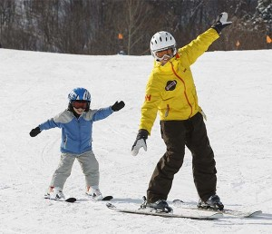 One of our Children Specialist instructors teaching a 4 year old.